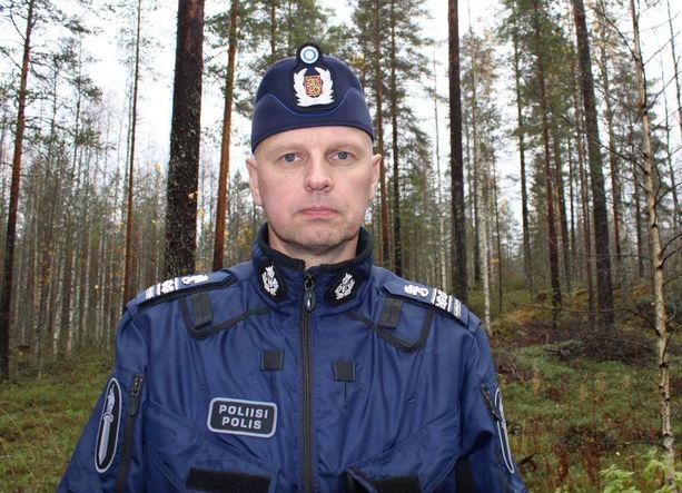 Ylikomisario Harri-Pekka Pohjolainen Itä-Suomen poliisilaitokselta.