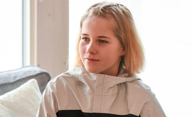 Alisa Vainio ei ole vielä avannut kilpailukauttaan.
