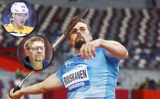 Urheilutähdet kannustavat kansaa koronatilanteen keskellä – Antti Ruuskanen rehkii jalkaprässiä