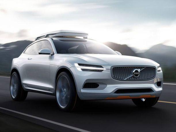 Nähdäänkö supermoottori ehkä tmän Volvon XC Coupé konseptin keulalla.