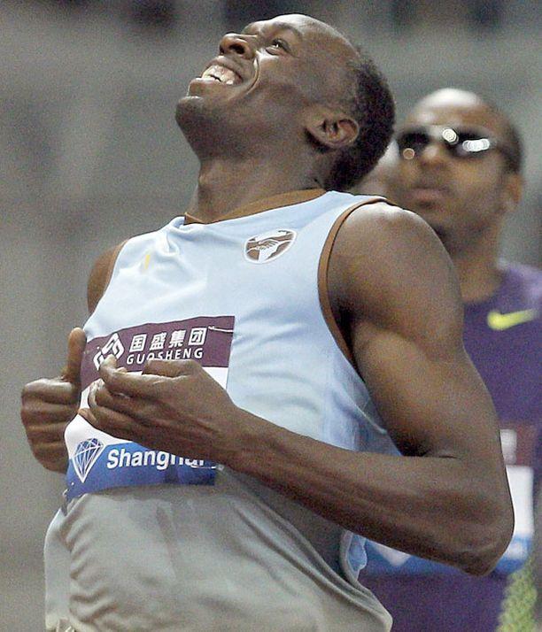 Usain Bolt ei ole vielä parhaassa kunnossa.