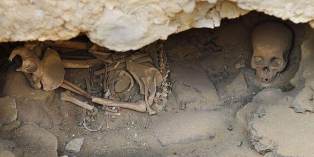 Gizan pyramidien vierestä löytyi uusi hautapaikka.