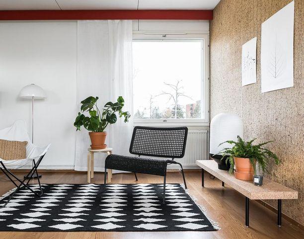 Viherkasvit tekevät kodista kodin. Lisäksi ne ovat trendikkäitä ja puhdistavat ilmaa.