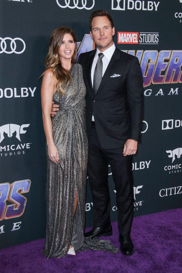 Katherine Schwarzenegger ja Chris Pratt saavat lapsen.