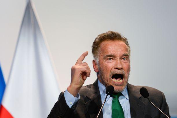 Arnold Schwarzenegger tunnetaan ex-kehonrakentajana, näyttelijänä ja poliitikkona