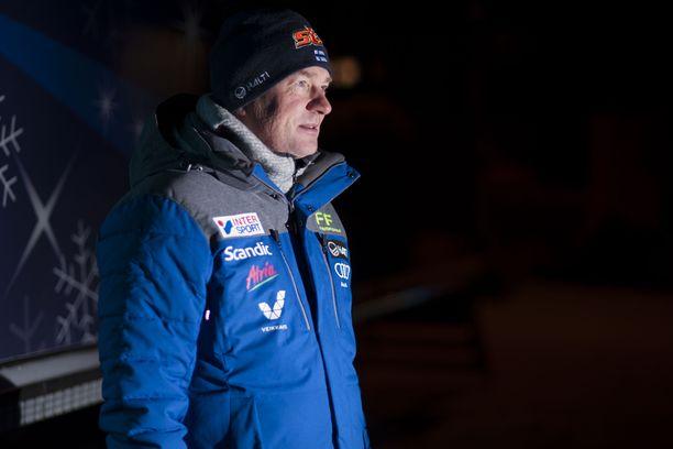 Matti Haavisto odottaa kovia tuloksia Otepään maailmancupista viikonloppuna.