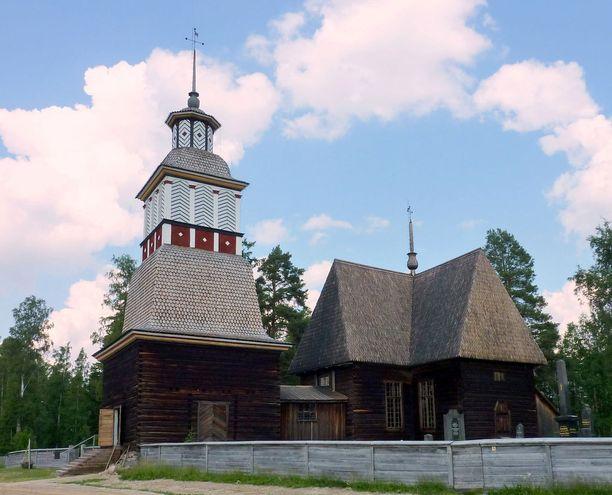 Petäjäveden vanha kirkko on päässyt Unescon maailmanperintölistalle.