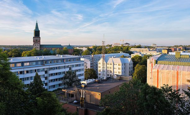 Tapaus sattui Turun itäisessä kantakaupungissa, Uudenmaankadun varren talossa. Kuvituskuva samalta alueelta.