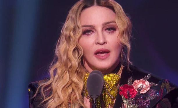 Madonna puhui viime viikolla järjestetyssä Billboard Women in Music -tapahtumassa.