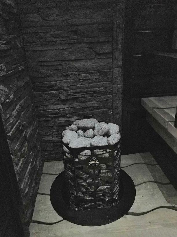 Mikon mukaan saunaan meni kiukaineen ja kuituineen noin 1800 euroa.