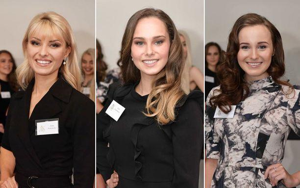 Venäläistaustaiset Miss Suomi -semifinalistit pitävät Alina Voronkovaa esikuvanaan.