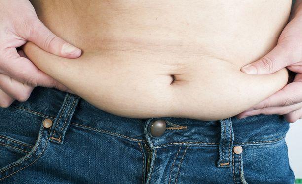 Liian raju laihdutus voi pysäyttää laihtumisen.