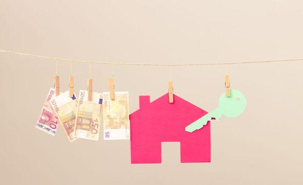 Vuokra-asuntoja välittävä yritys voi laskuttaa vain vuokranantajaa, ei vuokralaista. Kuvituskuva.
