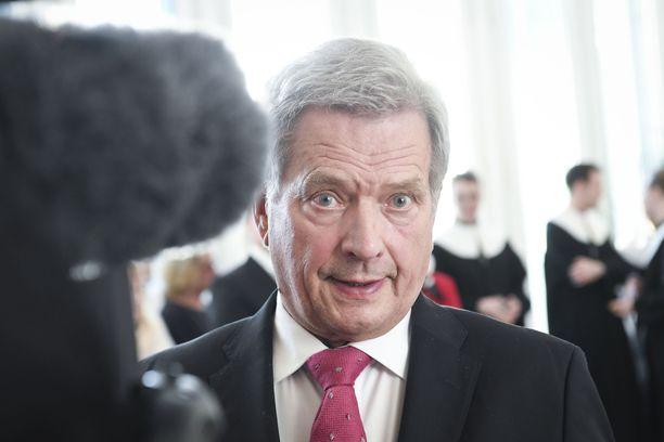 Presidentti Sauli Niinistö kommentoi Vastaamo-tietomurtoa.