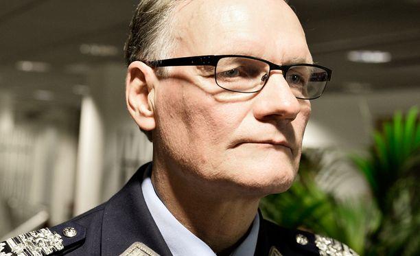 Poliisiylijohtaja Mikko Paatero.