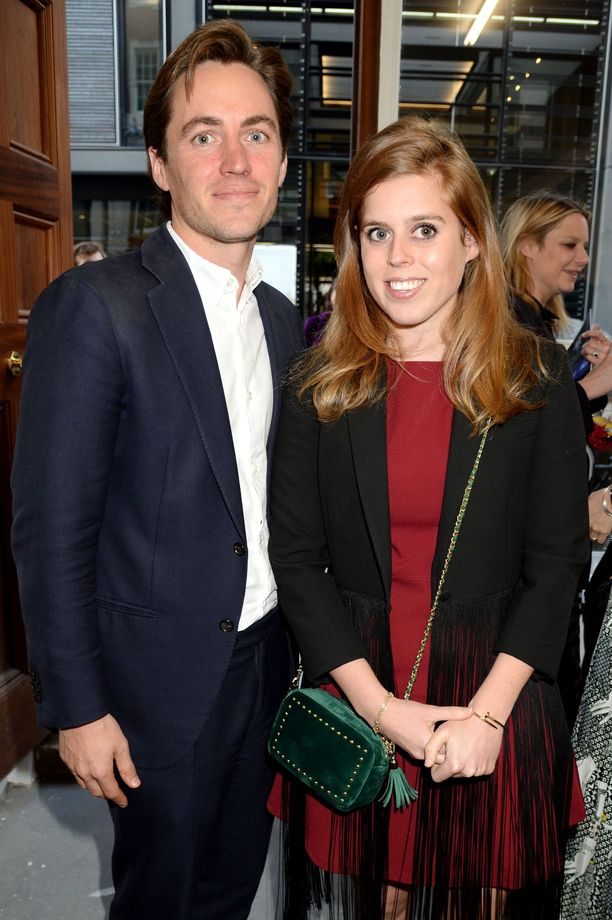 Edoardo Mapelli Mozzi ja prinsessa Beatrice toukokuussa 2019.