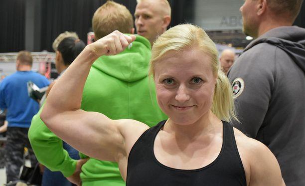 Hanna Rantala teki uuden Euroopan ennätyksen varustepenkkipunnerruksessa.