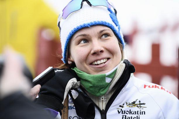 Susanna Saapunki onnistui viikonloppuna Lillehammerin maailmancupissa.