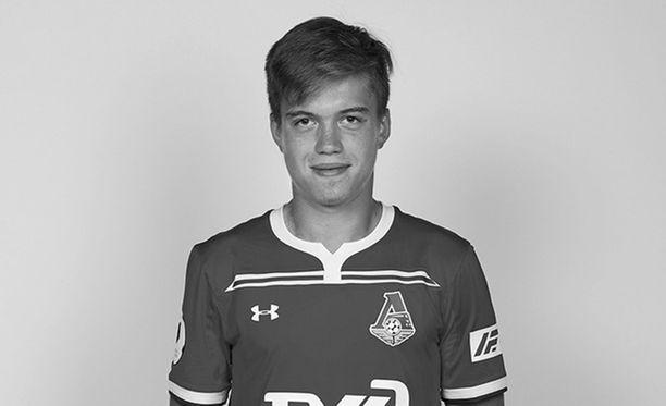 Aleksei Lomakin, 18, tunnettiin lupaavana jalkapalloilijana, joka oli edustanut Venäjän maajoukkuetta junioritasolla.