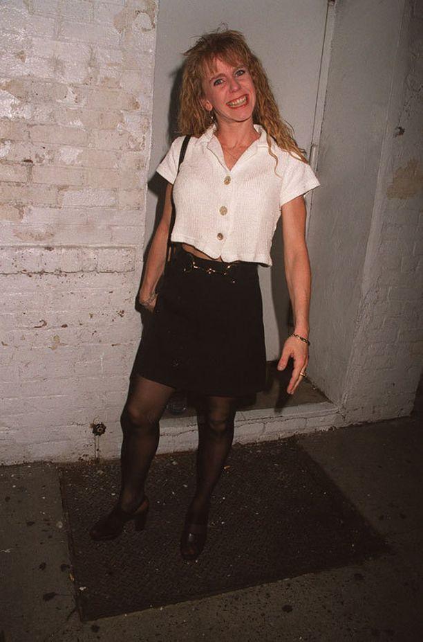 Tonya Harding kuvattuna vuonna 2001.
