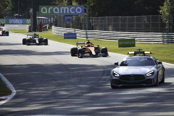 Turva-auto sähköisti Italian GP:n tehden siitä klassikon.
