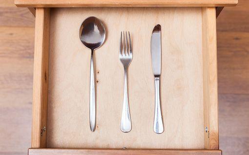 Veitset, lusikat ja haarukat: missä järjestyksessä ruokailuvälineet ovat? Tässä helppo muistisääntö