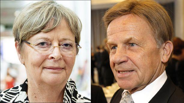 Liisa Jaakonsaari ja Mauri Pekkarinen näkevät irtisanomiskiistan hyvin eri tavoin.