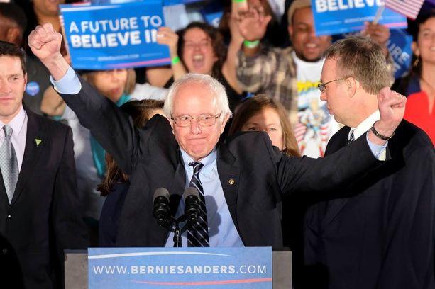 Sanders sai demokraattien äänistä noin 60 prosenttia.