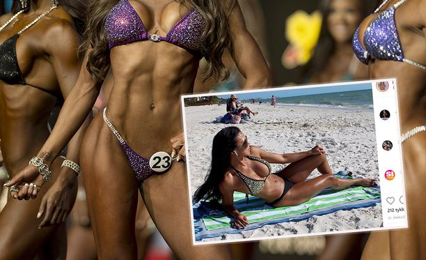 Sept.16, 2016 - Las Vegas, Nevada, U.S. -  Women compete in the Bikini Olympia contest during Joe Weider's Olympia Fitness and Performance Weekend.(Credit Image: © Brian Cahn/ZUMA Wire)
