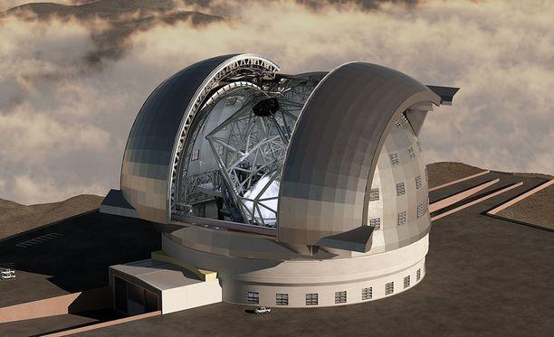 Eurooppalainen ELT rakennetaan Chileen, sen pääpeili tulee olemaan 39 metriä. ELT on huomattavasti tarkempi kuin Tess.