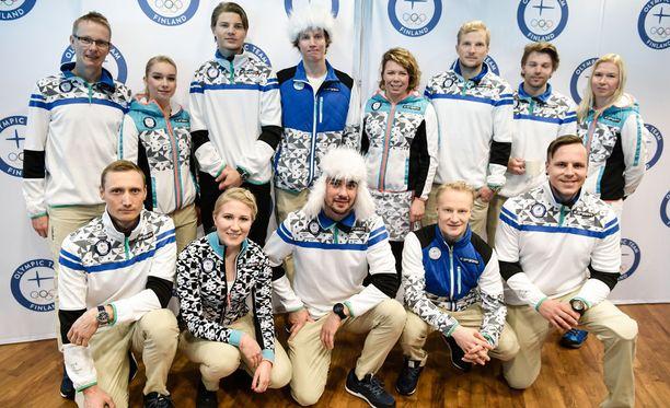 Suomalaisurheilijat esittelivät olympia-asuja marraskuun alussa.