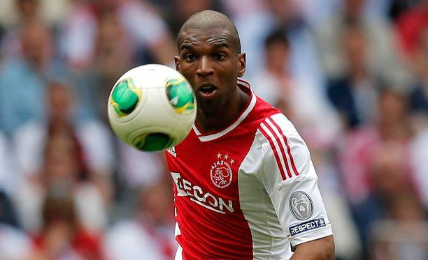 Ryan Babel piipahti kaudella 2012-2013 Ajaxissa.