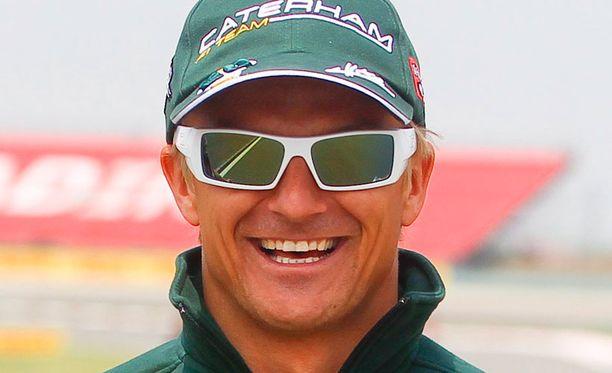 Heikki Kovalaisen Caterham on kehittynyt.