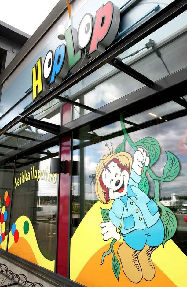 HopLop-sisäleikkipuistossa lapset voivat leikkiä, mutta omien vanhempien läsnäolo on pakollinen.