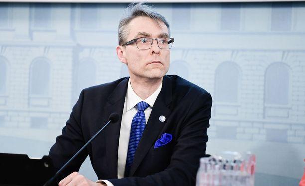 Tuomas Pöysti siirtyy oikeuskansleriksi vuodenvaihteessa. Arkistokuva.