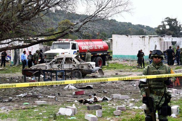 Ilotulitevarastojen ja -myymälöiden räjähdykset ovat Meksikossa valitettavan yleisiä.