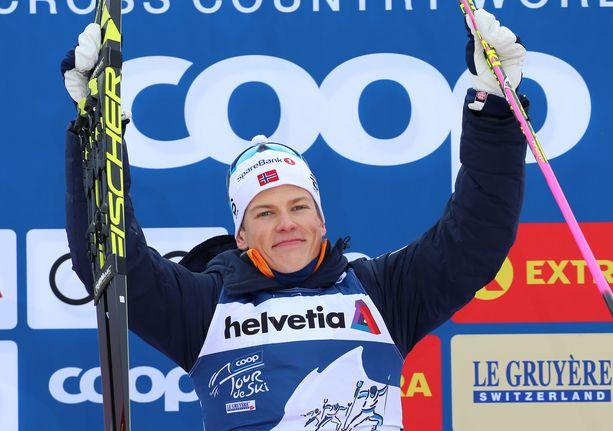 Johannes Kläbo voitti Tour de Skin näytöstyyliin.
