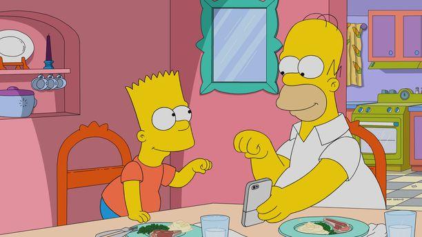 Suosikkisarja Simpsonit pyörii yhä televisioissa.