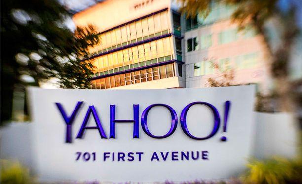 Yahoon päämaja Kaliforniassa Yhdysvalloissa.