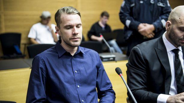 Joonas Loiri vastasi syytteisiin Helsingin käräjäoikeudessa kesäkuussa 2016.
