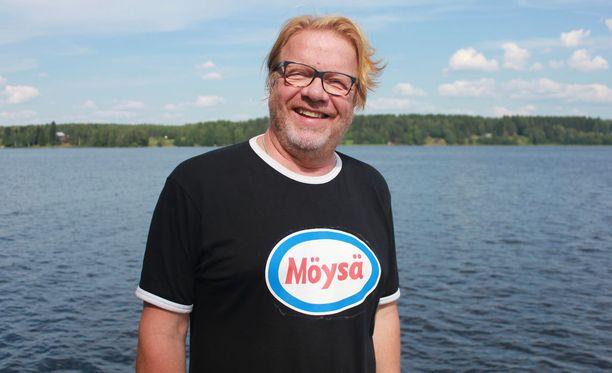 Heikki Silvennoinen haluaa yleisön saavan elämyksiä.