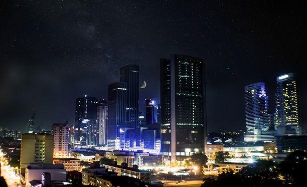 Malesian pääkaupunki Kuala Lumpur on suosittu turistikohde.