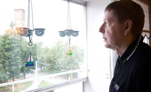 Rajatilakokemus muutti Matti Kiviluodon suhtautumista elämään. Hän arvostaa sitä enemmän