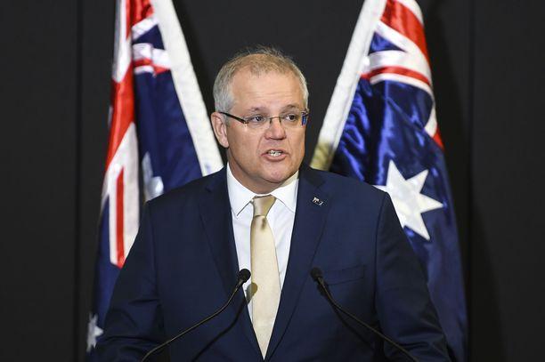 Australian pääministeri Scott Morrison ei ollut uskoa näkemäänsä maanantaiaamuna.