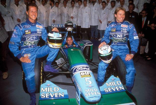 Jyrki Järvilehdolle tarjoutui huippuluokan mahdollisuus, kun hän pääsi Michael Schumacherin tallikaveriksi Benettonille 1994.