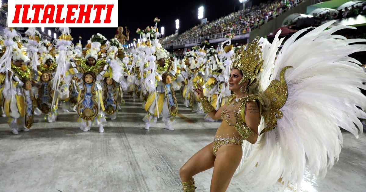 Rion karnevaaleja lykätään hamaan tulevaisuuteen  Brasilia on...