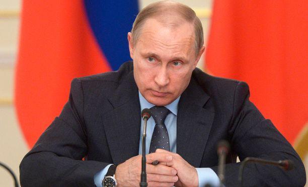 Putin on ilmeisen tyytymätön alamaistensa toimintaan.