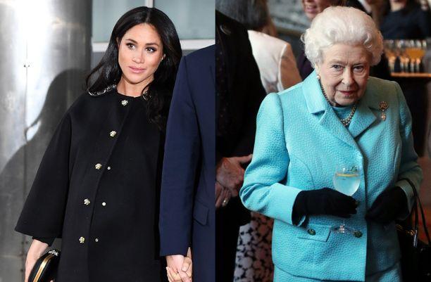 Meghanin ja kuningattaren väleistä on liikkunut brittilehdistössä monenlaisia huhuja.