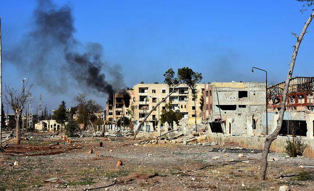 Ranskan ulkoministerin mukaan kaupunkia uhkaa humanitaarinen katastrofi.