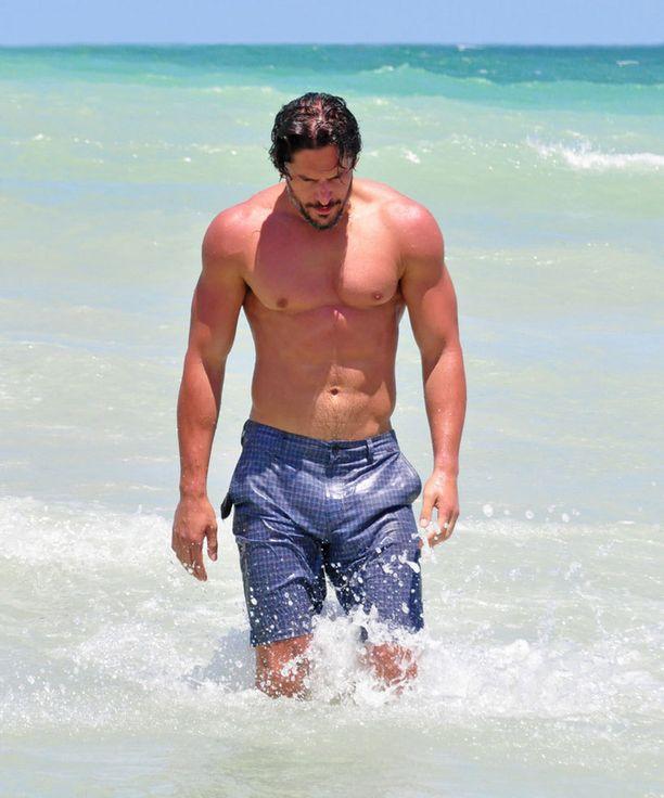 Tätä kroppaa kelpaa esitellä rannalla!